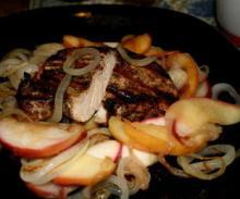 Свинско с ябълки по фландърски
