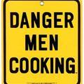 Опасно - мъжът готви!