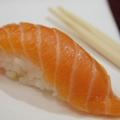 Нигири суши с жарена сьомга