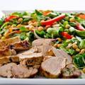 Свинско с нахут и зеленчуци в гювече