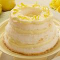 Торта - шифон с лимон