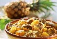Агнешко с ананас от кухнята на Куба