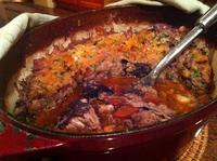 Касуле – бобена яхния с месо и наденички