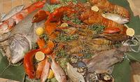 Разнообразие от риба и морски дарове