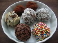 Разнообразие от шоколадови трюфели