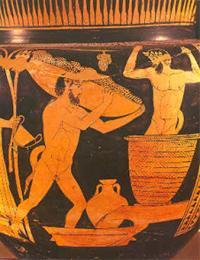 Производство на вино в Древна Гърция