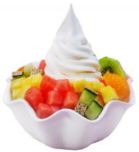 Апетитна мелба със замразен йогурт