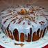 Традиционният паунд кейк с глазура